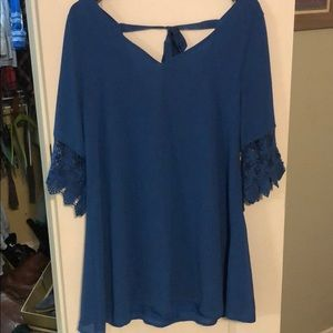NWT Altar'd State UK blue dress